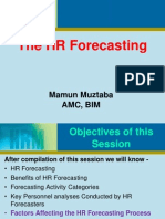 Factors Affecting HR Forecasting