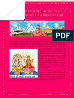 Scientific Tests of the Spiritual Powers of His Holiness Brahmrishi Shree Kumar Swamiji