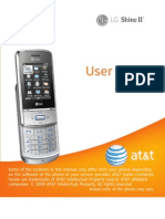 LG Shine II for AT&T