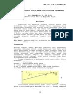 Analisis Regresi Linear Pada Statistika Non Parametrik