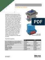 5550/5550G Mechanical Vibration Switches Datasheet