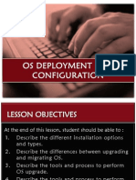Chapter 1.2 OS Deployment and Configuration