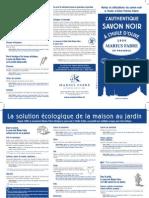 Conseils Dutilisation Du Savon Noir Marius Fabre