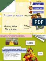 Aroma y Sabor
