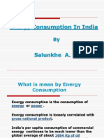 Energy Consumption in India Salunkhe