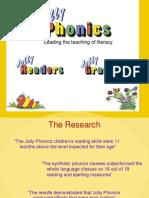Jolly Phonics Presentation