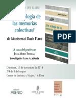 Ecologia Memorias Colectivas (Reus)