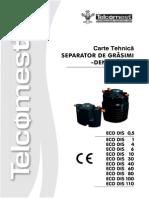 Carte Tehnica Separator Grasimi (1)