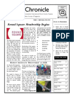 SCIS Chronicle Volume 8 Issue 1