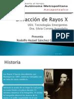 Exposición de Difraccion de Rayos X