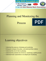Software Testing - Planning and Monitoring Processes