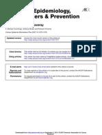 Cancer Epidemiol Biomarkers Prev 2007 Cummings 1070 6
