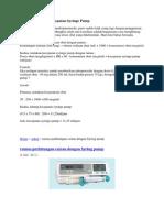 136728857 Cara Menghitung Kecepatan Syringe Pump Doc