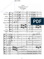 Mozart - Symphony No 39 in Eb Major%2C K 543