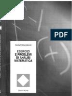 Boris P. Demidovic - Esercizi e Problemi Di Analisi Matematica