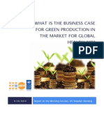 What is the Business Case for Greening Production in the Market for Global Health Aid_Report_24!09!14