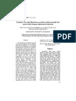 Produksi IAA oleh Rhizobium sp. dalam medium sintetik dan serum lateks dengan suplementasi triptofan