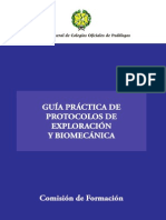 Guia Práctica Exploración y Biomecánica