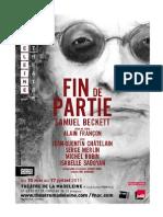 Dossier de Presse Fin de Partie411