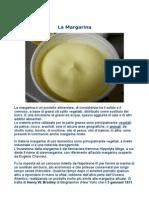 Ricerca Sulla Margarina