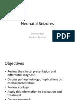 Neonatal Seizures
