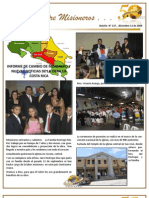 Boletin_137 Informe Misionero de Costa Rica - Dic 09