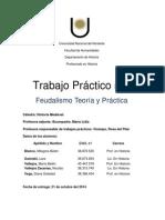 Trabajo Practico Feudalismo Teoria y Practica