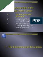 Entrepreneurship in the Twenty-First Century