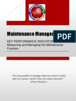 Maintenance Management