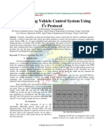 Implementing Vehicle Control System Using I2c Protocol