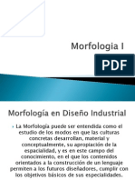 Morfologia I Diseño Industrial