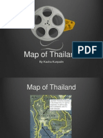 map of thailand presentation