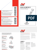 Minelab Excalibur II User Manual