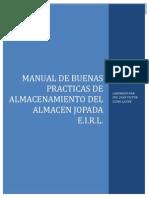 Manual de Buenas Practicas de Almacenamiento de Productos Alimenticios y Afines