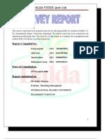 Dalda Foods Ltd. Complete Project Iiui