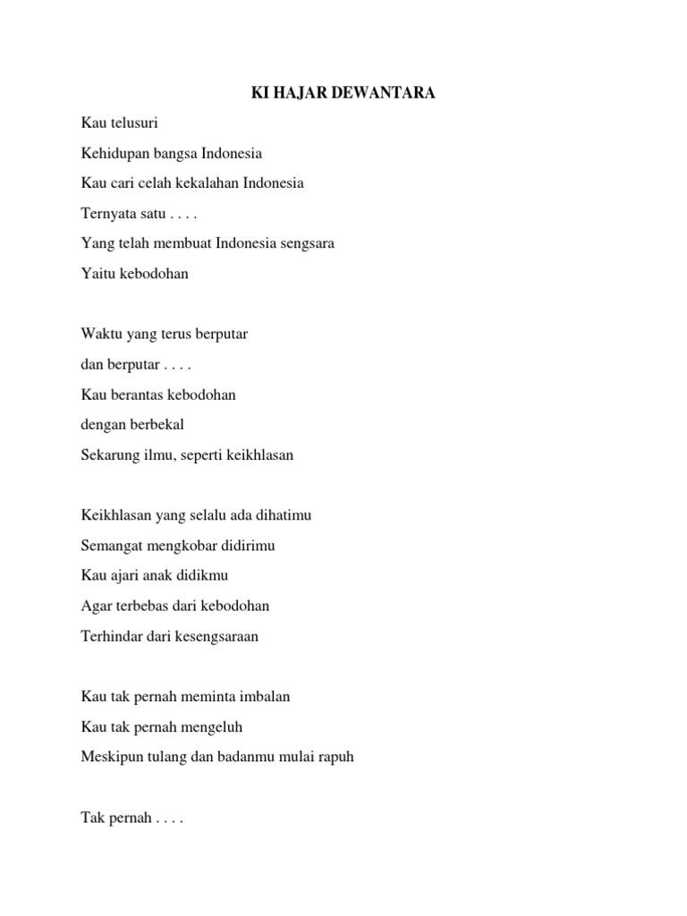 Contoh Puisi Tema Pahlawan Kemerdekaan Brad Erva Doce Info