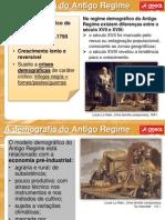Demografia Antigo Regime Areal Editora