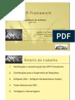 Jaejaneiro[Engenharia de Software] - NFR Frameworks (Requisitos Não Funcionais)