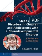 Sleep and Its Disorders in Children and Adolescents Wisorder_ a Review and Clinical Guide - Gregory Stores
