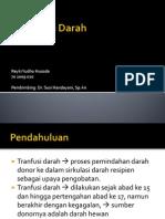 Transfusi Darah PPT