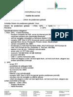 Caiet de Sarcini Achizitie Sistem de Pozitionare Globala