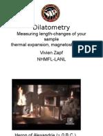 Dilatometry ppt