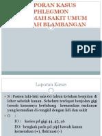 Laporan Kasus Phlegmon Ppt Co Kroco