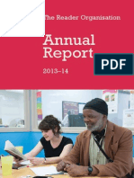 The Reader Organisations Annual Report 2013/14