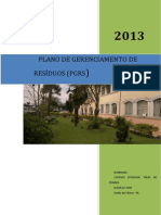Plano de Gerenciamento de Resíduos do Colégio Estadual Túlio de França