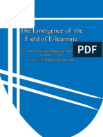 Emergence of E-learning Final Paper