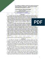 Evaluasi Efisiensi Tambang Terbuka Open Pit Menggunakan Metode Data Envelopment Analysis Artificial Neural Network