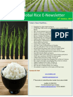 28th October,2014 Daily Global Rice E-Newsletter by Riceplus Magazine