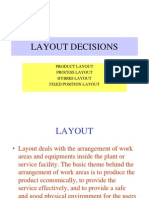 Layout decisions