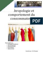 Anthropologie Et Comportement Du Consommateur Final 2 (1)